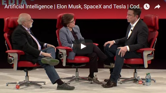 Elon Musk on Concerns of Artificial Intelligence