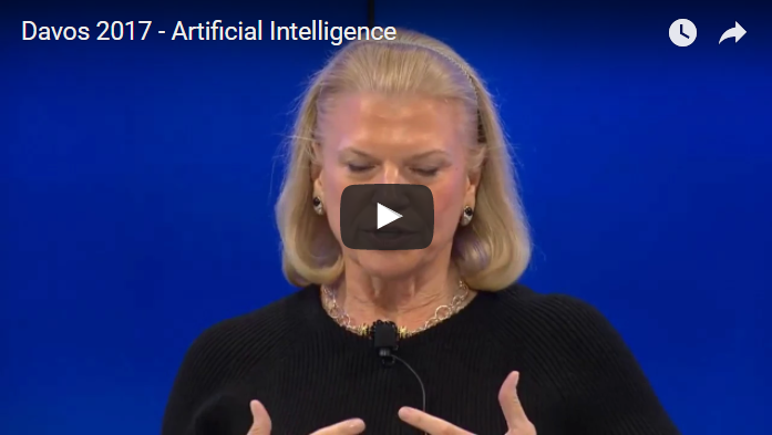 Must see video on AI - Davos 2017