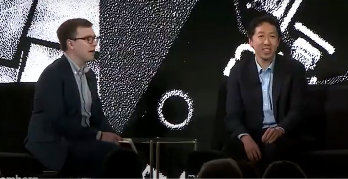 Reality vs Hype with Andrew Ng - by Bloomber Live show from 2019. STYT conference